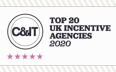 Gray Dawes Events Awarded 6th Place in C&IT Magazines Top 20 Incentive Agencies