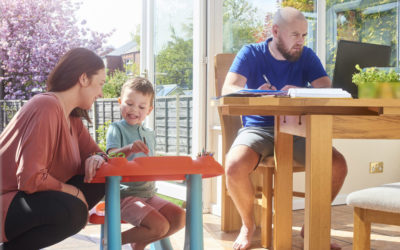Looking After Children and Yourself while working from home